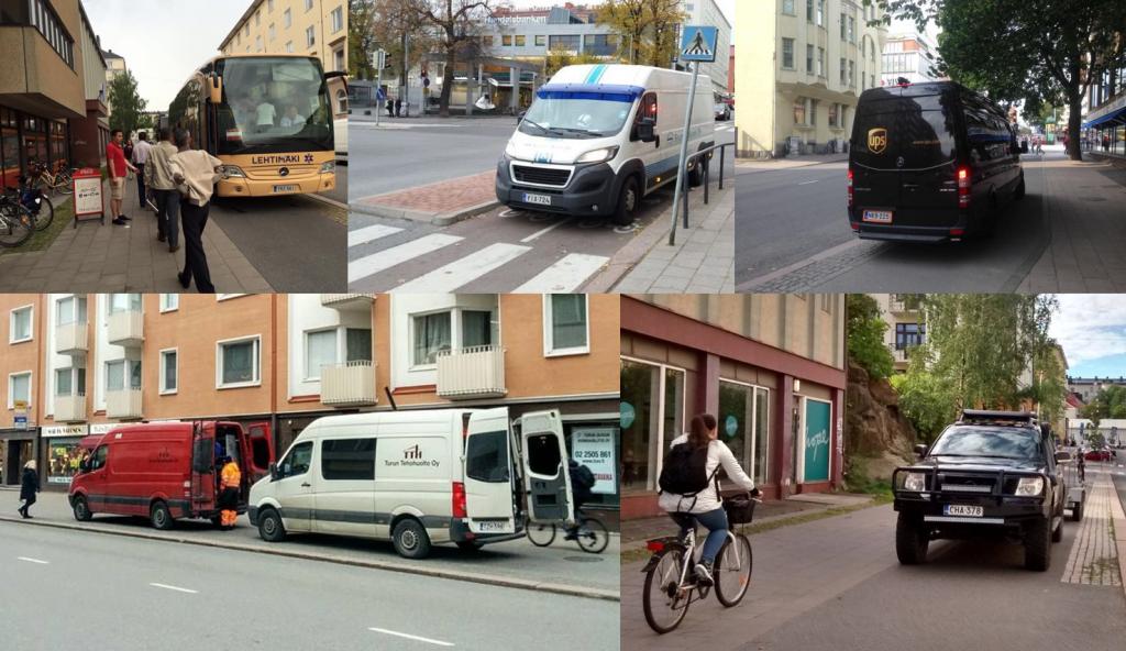 Turun arkea (kuvat: Tapani Aalto, Tero Rantaruikka, Antti Turkko, Risto Leino, Sami Tapio.